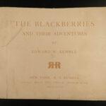 1897 1ed Kemble Blackberries Adventures African American Caricatures RACISM