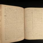 1928 Puritan 1ed John Bunyan Meeting Church Bedford Record ENORMOUS Manuscripts