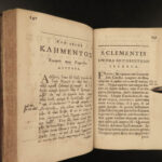 1687 Greek & Latin BIBLE Epistles of Pope Clement I Early Church at Corinth