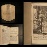 1647 1ed Valerius Maximus Dictorum Factorum ROME Tiberius Scipio Latin Lipsius
