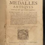 1627 1ed Ancient Medals COINS Numismatics Savot ROME Gold Silver Marcus Aurelius