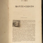 1851 Count of Monte Cristo Alexandre Dumas French Literature Illustrated Maquet