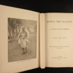 1887 1ed Paton Voyages Caribbean Islands Capt Kidd Pirate SLAVERY Illustrated