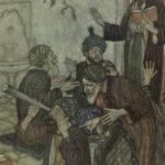 1909 EXQUISITE Rubaiyat Omar Khayyam Persia Mysticism DULAC Illustrated ART