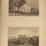 1831 LONDON Architecture Views of Mansions Castles England Illustrated ART Neale