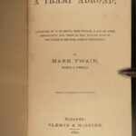 1880 1ed Mark Twain A Tramp Abroad Travel Satire 3 1st editions! US/CAN/UK