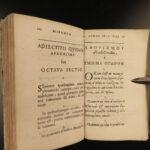 1613 Hippocrates 1ed Medicine SECRETS Aphorisms Surgery Magistro Greek Latin Law
