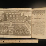 1751 SURGERY Medicine Illustrated Operations French Illustrated Chirurgie Dionis