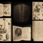 1690 CHEMISTRY Nicolas Lemery Chymie Experiments French Physics Science Alchemy