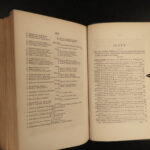 1854 United States Constitution & Declaration of Independence Articles Hickey