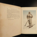 1910 Arctic Voyages 1ed North Pole Robert Peary Illustrated FAMOUS MAP Roosevelt