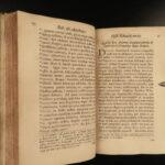 1720 1ed Robert of Avesbury Black Plague Flagellation Occult Rituals Mirabilibus