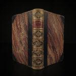 1868 BEAUTIFUL 3v Dante Divine Comedy Lord Byron Alexander Pope Binding RARE