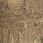 1885 Biblia Pauperum John Wycliffe BIBLE New Testament Illustrated Vellum Ltd ed