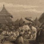 1848 1ed Niger River Expedition anti SLAVERY Voyage Africa Nigeria MAPS 2v SET