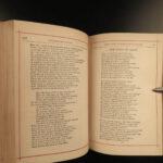 1883 EXQUISITE Samuel Coleridge Rime of the Ancient Mariner Poetry Lake Poet