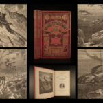 1880 Jules VERNE 20,000 Leagues Under Sea French Illustrated Sci-Fi CLASSIC