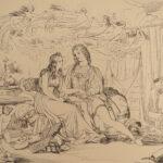 1845 Shakespeare TEMPEST 1ed Paton Scottish ART + Shelley Prometheus Unbound