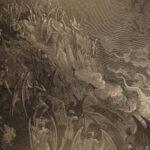 1886 John Milton Paradise Lost Gustave Dore Gallery Illustrated FOLIO Literature