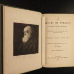 1891 Darwin Origin of Species EVOLUTION Survival of Fittest Important 6th ed 2v
