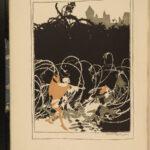 1920 SIGNED Sleeping Beauty Illustrated Arthur Rackham ART Fairy Tale Perrault