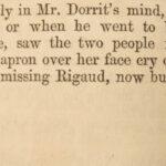 1857 1st/1st Little Dorrit by Charles Dickens Social Classes Marshalsea BINDING