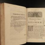 1735 1ed King Richard the Lionheart Henry II England Benedict of Peterborough 2v
