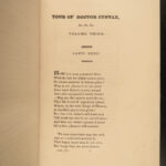 1820 EXQUISITE Tour Doctor Syntax Combe Illustrated Comic Poetry 3v FINE BINDING