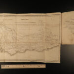1802 1ed John Barrow in South Africa Cape of Good Hope African Voyages MAP Rare