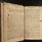 1685-1707 LAWS & Acts of Scotland Parliament Scottish William Mary James VII