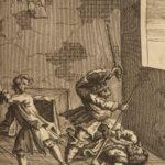 1744 HUDIBRAS by Samuel Butler William Hogarth ART Illustrated 2v *BEST ed*
