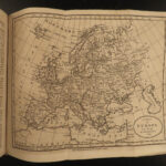 1796 Atlas MAPS Brookes General Gazetteer Geography Dictionary Asia America