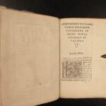 1517 Aphthonius of Antioch Atticism Greek Rhetoric Post Incunable Progymnasmata