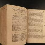 1573 1ed Eisengrein Aurea Postilla Evangeliorum BAVARIA Catholic BINDING Clasps
