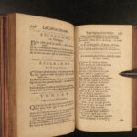 1666 Le Cabinet Satyrique French Poetry Berthelot Motin Regnier Moroccan BINDING