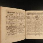 1685 Theatri Pacis European Diplomacy Politics Commerce Navigation German Wars