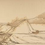 1859 Divine Comedy DANTE Vision Illustrated Inferno Paradise Purgatory Flaxman