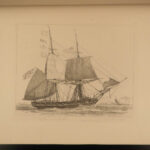 1829 1ed Edward William Cooke ART Shipping and Craft Landscape Painting Boats