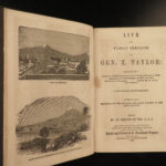 1850 Life of Zachary Taylor Mexican American WAR United States Seminole War