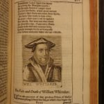 1651 1ed Abel Redevivus Thomas Fuller Martyrs of REFORMATION Huss Calvin Luther